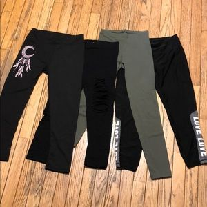Size Small Leggings Bundle 4 Pairs